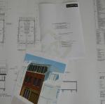 nieuwbouw van 4 appartementen en een winkelruimte